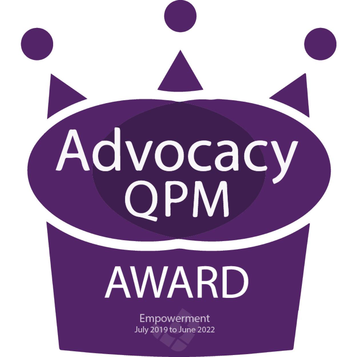 QPM AWARD Empowerment Colour 300px x 300px